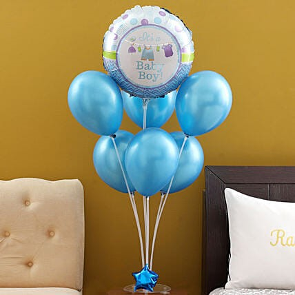 Get Online Balloon Bouquet Delivery India